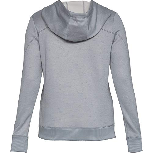 Synthetic Pullover Under Femme Haut Fleece Armour Steel n6WpFv5x