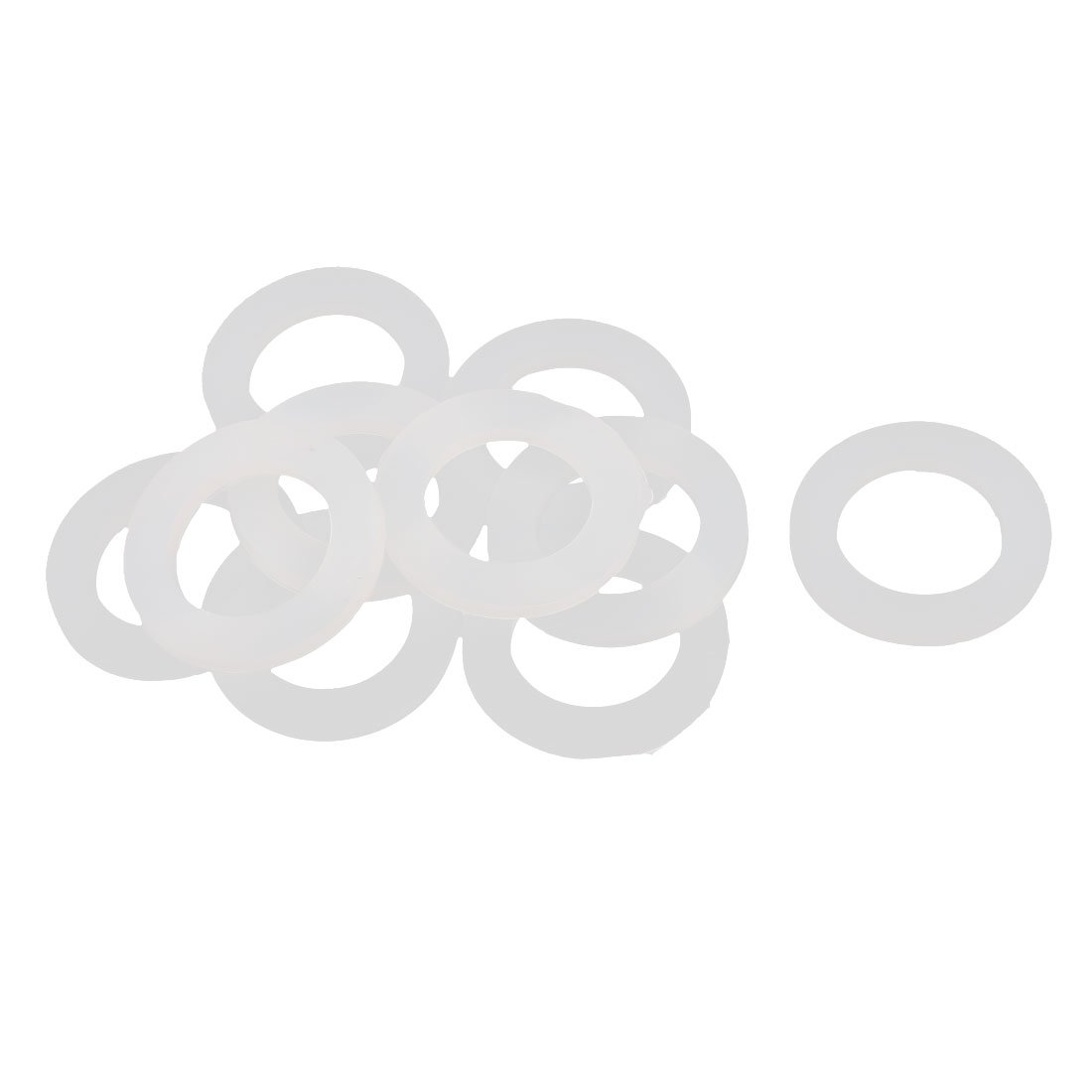 Sourcingmap 10St/ück 40mm x 2mm Flexible Filter Gummi-O-Ring-Dichtung Schwarz DE de