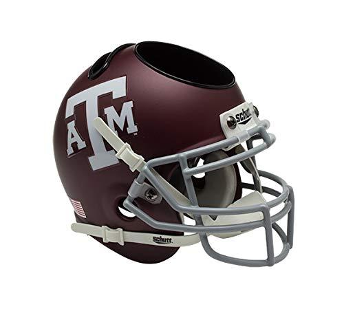 Schutt NCAA Texas A&M Aggies Football Helmet Desk Caddy, Classic