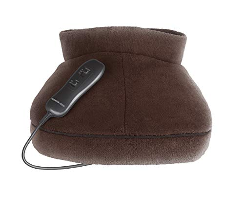 Sharper Image SIM300BR Cozy Foot Massager with Vibration Heat and Remote