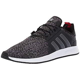 adidas Originals Men's X_PLR, Black/Grey/Scarlet, 8 M US