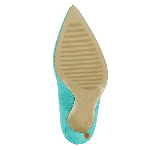 Evita Shoes Mia - Zapatos de vestir de Otra Piel para mujer turquesa
