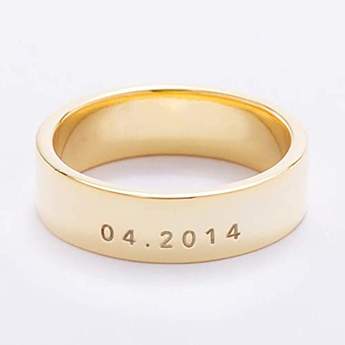 fc703aae68 Image Unavailable. Image not available for. Color: Graceful Rings Gix  Minimalist Custom ...