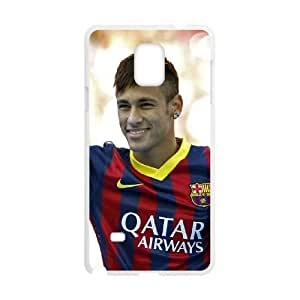 Samsung Galaxy Note 4 Cell Phone Case White_Neymar_003 R2B6F