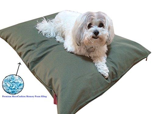 Durable Comfort Pet Dog Micro-cushion Memory Foam Pillow Bed