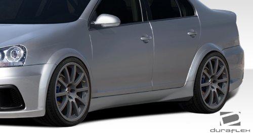 Duraflex ED-TOJ-856 R-GT Wide Body Side Skirts Rocker Panels - 2 Piece Body Kit - Fits Volkswagen Jetta 2005-2010