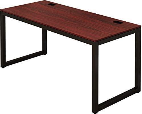SHW Home Office 55-Inch Large Computer Desk - a good cheap modern office desk