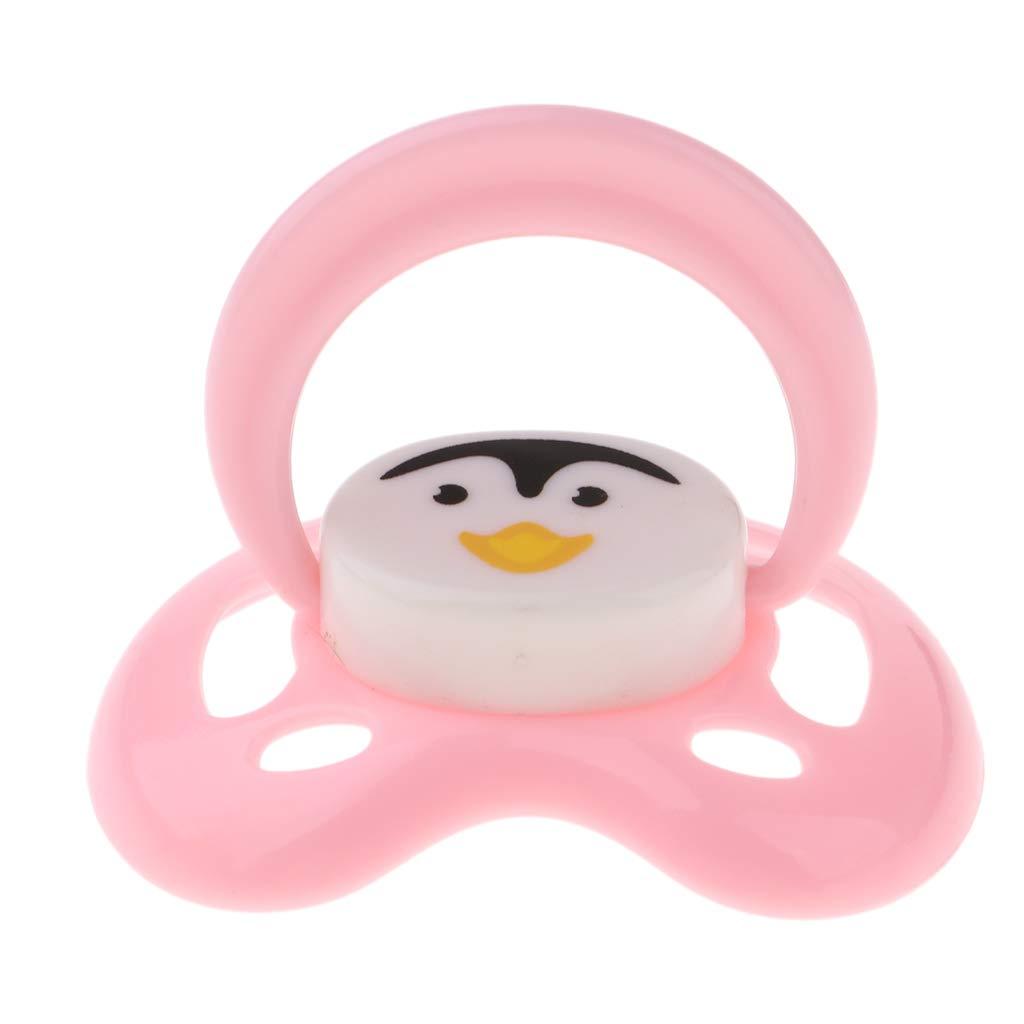 KESOTO Lindo Chupete Chupete Magnético para Bebé Renacido Renace Suministros Blanco - Rosado #3