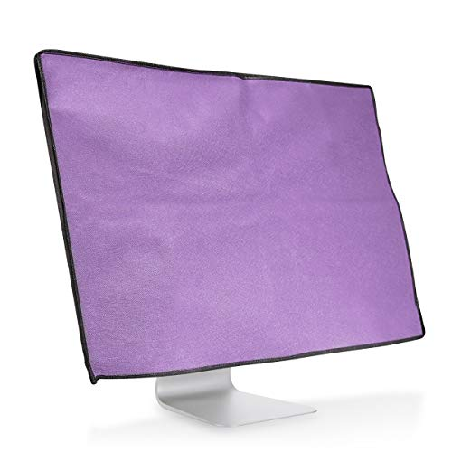 kwmobile Monitor Cover for 27-28'' Monitor - Dust Cover PC Monitor Case Screen Display Protector - Pastel Purple by kwmobile