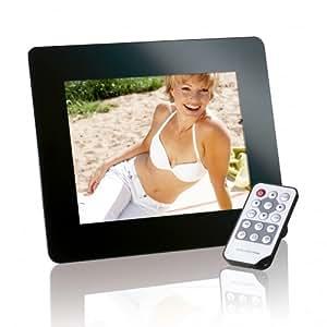 Intenso PhotoPromoter 8 - Marco digital (203.2 mm (8 ), 800 x 600 Pixeles, LCD, Memory Stick (MS), MMC, SD, SDHC, USB 2.0, Negro)
