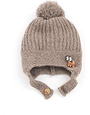 Cute Baby Ball Little Elephant Windproof Knit Cotton Hat