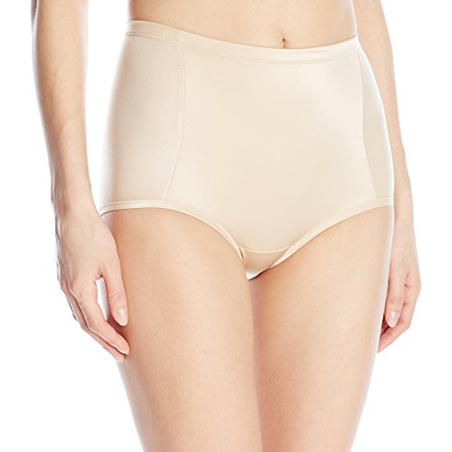 Vanity Fair Women's Smoothing Comfort Brief Panty 13261, Damask Neutral, 2X-Large/9