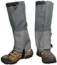 Frelaxy Leg Gaiters, Hiking Gaiters, Ultra Strong 900D Oxford Gaiters for Hunting, Waterproof and Adjustable S