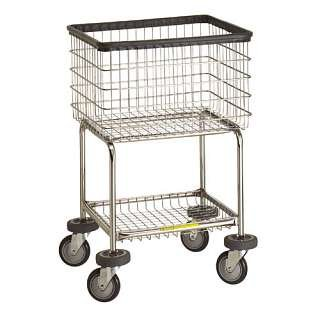 Deluxe Elevated Laundry Carts