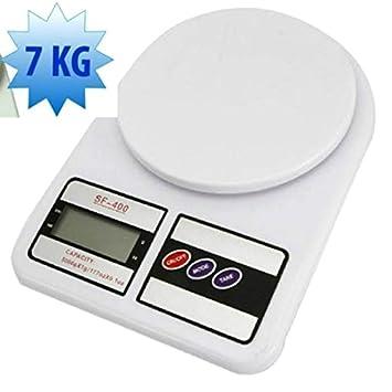 Báscula 0-7 kg de cocina, digital - Mide gramos y onzas, con