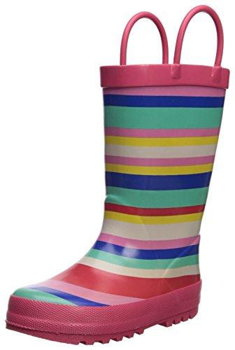Carter's Girls' Viona Rain Boot, Pink, 8 M US Toddler