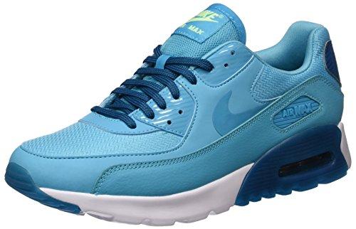 Nike W Air Max 90 Ultra Essential, Zapatillas de Deporte Para Mujer Azul (Gamma Blue / Gmm Blue-Grn Abyss)