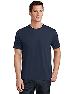 Port & Company Men's 100% Ring Spun Cotton Fan Favorite Tee-Deep Navy-Medium