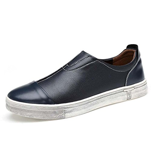 4803bdce31062 zapatos de hombre casuales de cuero