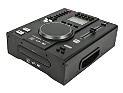 Monoprice Tabletop DJ CD Player with USB Flash Player and FX from Monoprice