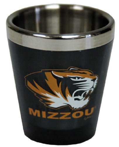 NCAA Missouri Tigers Acrylic Shotglass
