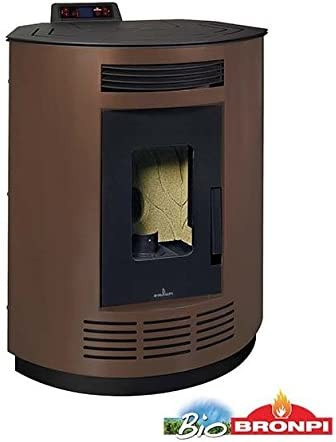 'bronpi–Estufa de pellets 8kW Mod.