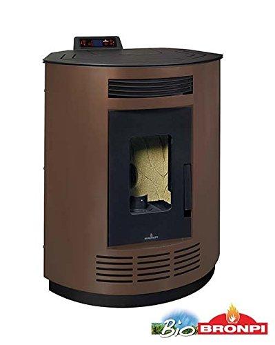 bronpi - Estufa de pellets 8 kW Mod.