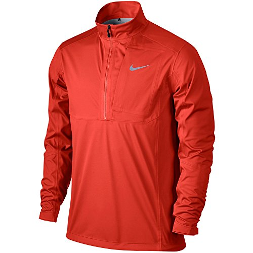 - Nike Storm-FIT Vapor 1/2 Zip Golf Jacket 2015 Light Crimson Medium