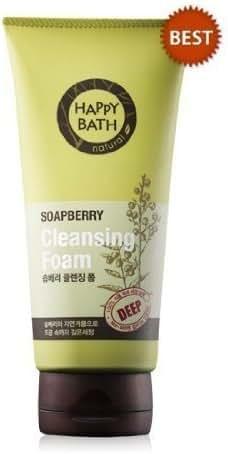 [Happybath] Soapberry Cleansing Foam 175g Deep Cleansing Happy Bath by Happy Bath