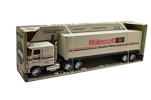 Toy Pressed Steel (Nylint 1980's Pressed Steel Motorcraft/Ford Tractor Trailer Semi-Truck - NIB)