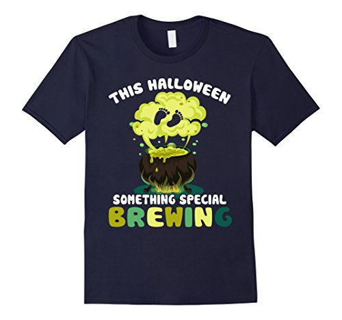 Mens This Halloween Something Special Brewing T-shirt New Baby 2XL Navy