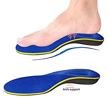 713ba70cf5 Plantar Fasciitis Insoles for Flat Foot, Insole Arch Supports Orthotics  feet Inserts,Foot Pain
