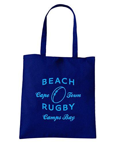 T-Shirtshock - Bolsa para la compra TRUG0088 ruggershirts beach rugby light logo Azul Marino