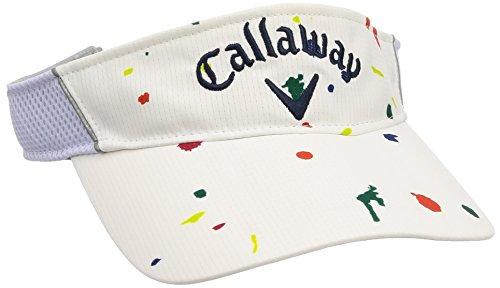 (キャロウェイ アパレル) Callaway Apparel [ メンズ] 速乾 サンバイザー (サイズ調整) パッカブル / 241-8184504 / 帽子 ゴルフ