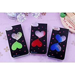 LIMME Heart to Heart Hard Case for iPhone 5/ 5S(Assorted Colors)