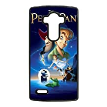 Durable Rubber Cases LG G4 Cell Phone Case Black Zyzuc Peter Pan Protection Cover