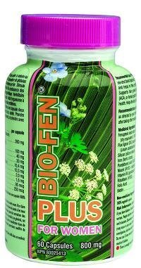 Bio-Fen for Women by Hair Grow Technology Incorporated (60 Capsules - One month supply) Hair treatment for Women, naturally.