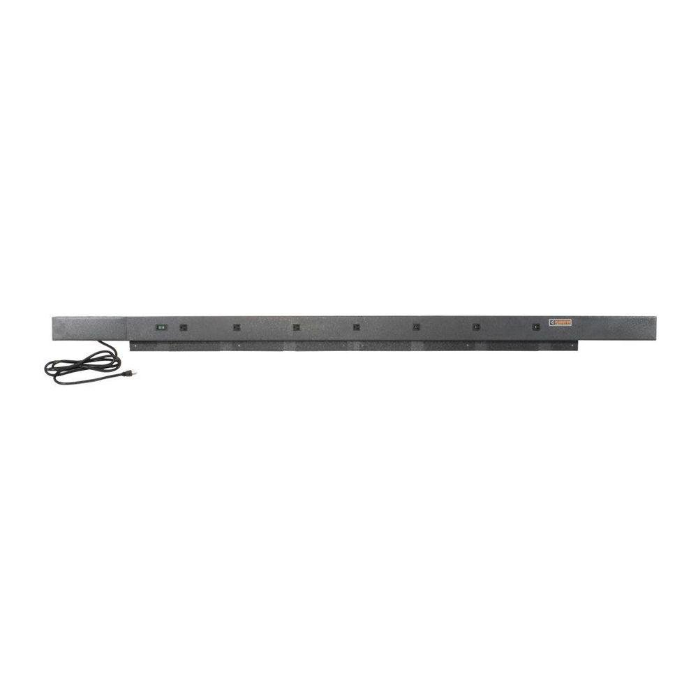 Gladiator 6 ft. 9-Outlet Workbench Power Strip in Hammered Granite