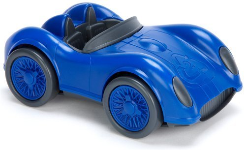 Green race car blue of Toys (green toys)