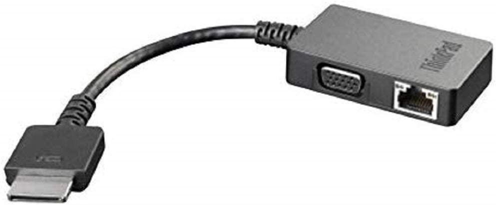 Lenovo ThinkPad - Port Replicator - VGA - for ThinkPad 11E Chromebook, ThinkPad 13, ThinkPad X1 Carbon 20FB and More