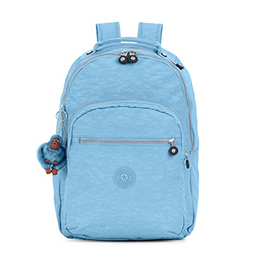 Seoul Backpack, Blue/Grey, One Size by Kipling