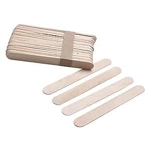 50 unidades de palos desechables de madera. Ideales para hacer ...
