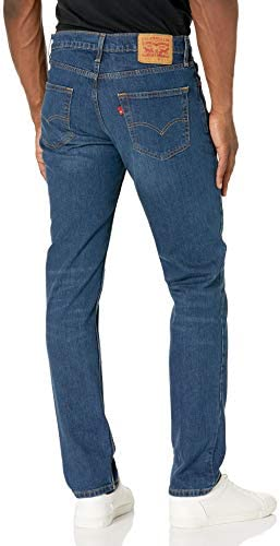 41eE4mJ4gOL. AC Levi's Men's 511 Slim Fit Jeans    A modern slim with room to move, the 511™ Slim Fit Stretch Jeans are a classic since right now. These jeans sit below the waist with a slim fit from hip to ankle. Made with +Levi's® Flex: Our most advanced stretch technology engineered to deliver maximum flex and optimum comfort. Cut close to the body, the 511™ Slim is a great alternative to the skinny jeans. ImportedZipper closureWash And Dry Inside Out With Like Colors; Liquid Detergent Is RecommendedSits below waistSlim through seat and thighSlim leg