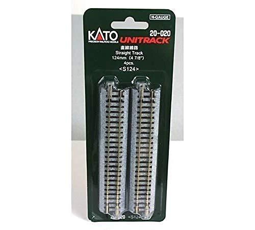 "Kato KAT20020 N 124mm 4-7/8"" Straight"