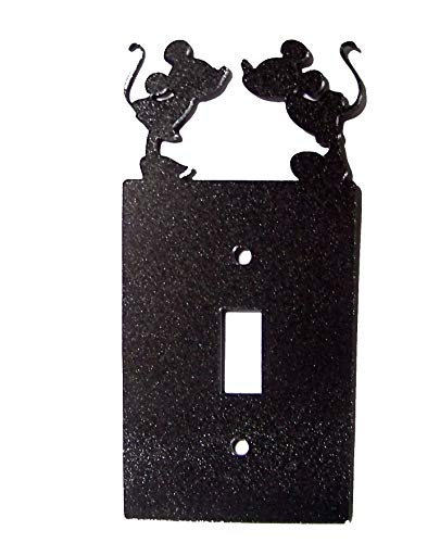 Mickey and Minnie Mouse Wall Decor Switch Plate
