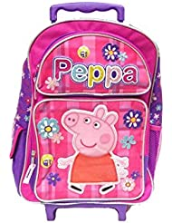 Peppa Pig School Rolling Backpack 16 Large