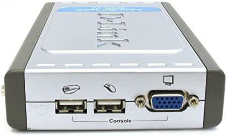 Teclado y rat/ón D-Link DKVM-CU Cable para Video 1,8m, Negro, VGA, USB - Switch KVM kvm