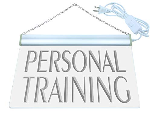 Neon Trainer - ADV PRO m111-b Personal Training Gym Trainer Neon Light Sign