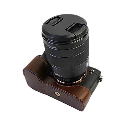 Xidan CFL Custodia per fotocamera in pelle per Sony A9 A7RIII//A7III