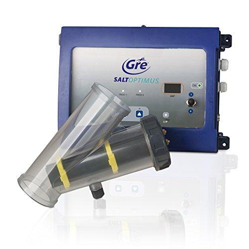 Gre ESP30 Electrolyse au Sel Optimums Jusqu'à 30m3 pour pour pour Piscines Enterrées, Bleu, 38 x 15 x 28 cm 31ba31